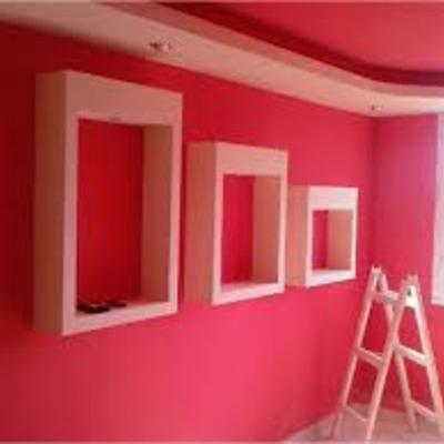 pintado de mural dos colores
