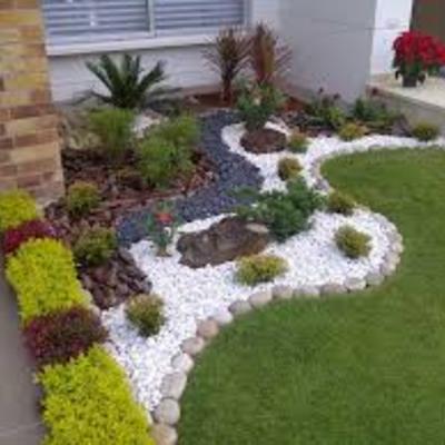 Trabajos jardines viviendas unifamiliares