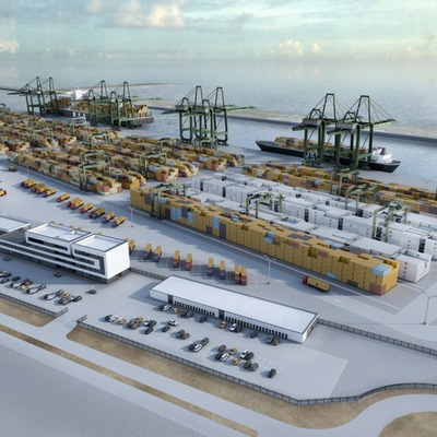 Conjunt d'edificis de lomé container terminal