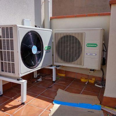 montajes de aire acondicionado