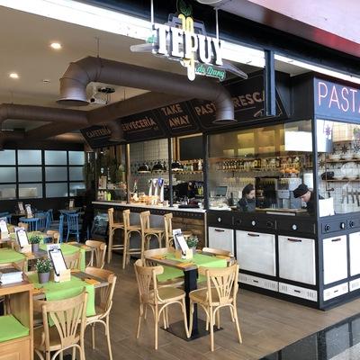 Restaurante fachada del Tepuy de Dany