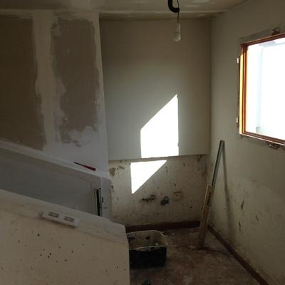 Finalización de pladur interior