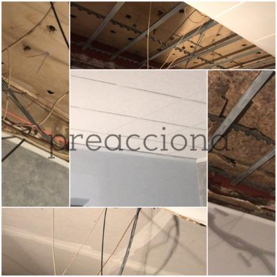 Insonorización de techos en local de restauración