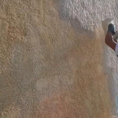 Muro liso y su transormación