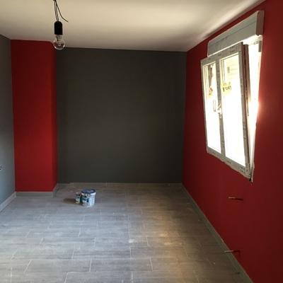 Pintura, techos lisos de Pladur y suelos nuevos