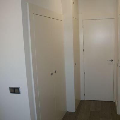 Frente armario y puerta de paso