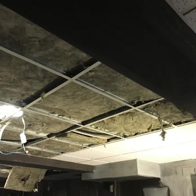 Cambiando el techo