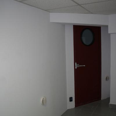 Puerta Acústica entrada Aula de canto