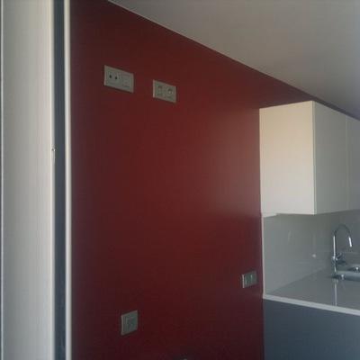Esmalte sobre paredes