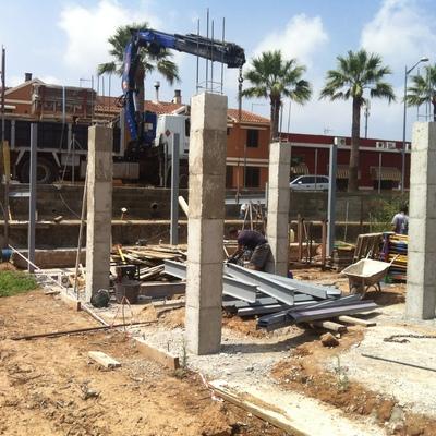 Alzado de pilares