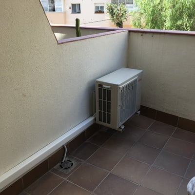 Condensadora Aire acondicionado tipo split