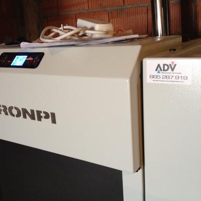 puesta en marcha de caldera de biomasa