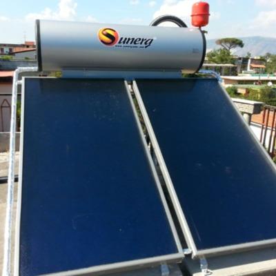 Acumulador solar de inercia