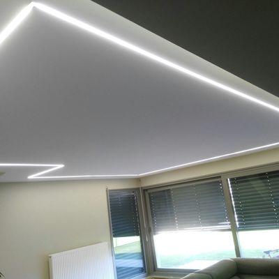 iluminación mediante tiras led