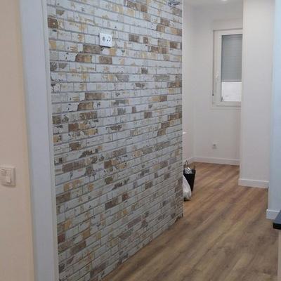 alisado tarima y alicatado pared
