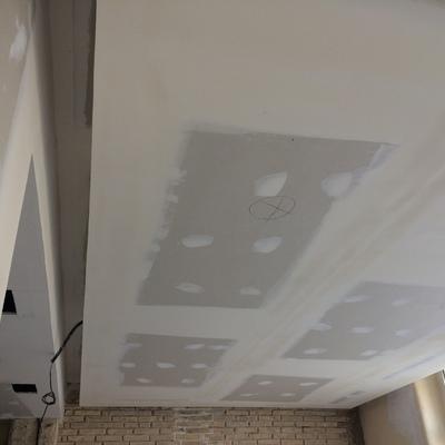 Techo de salón con Oscuro para luz indirecta
