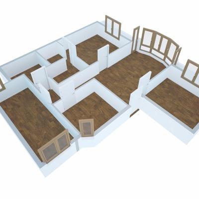 Infografias 3D reforma vivienda munguia