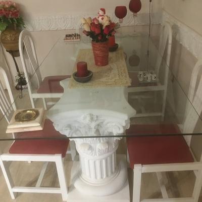 Mesa comensales salón