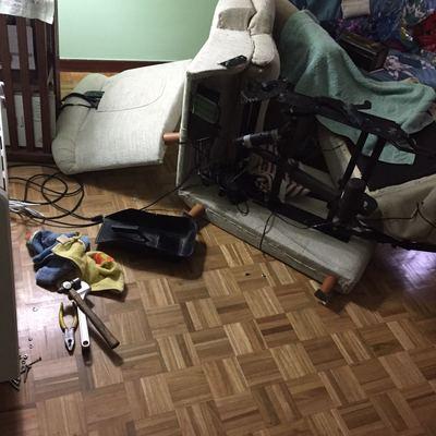 Reparación sillón relax eléctrico