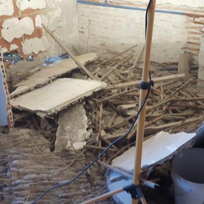 Baño en demolición