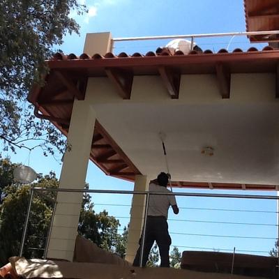 terminacion de terraza completa