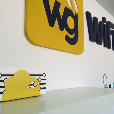 rotulo para wifi go