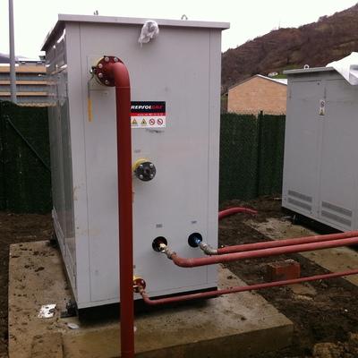 Central gasificadora para red de distribución de gas