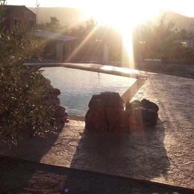 piscina de hormigón en Onteniente