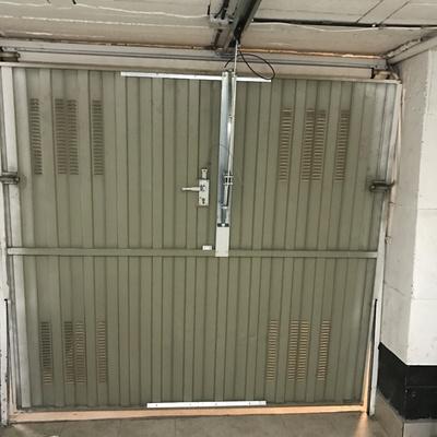 Automatización de puerta de garaje