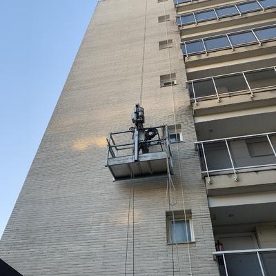 Trabajos de mantenimiento e impermeabilización de fachadas