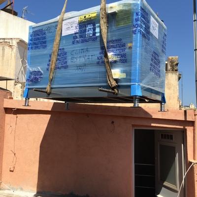 Sustitución de enfriadora de 25000 frigorias