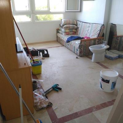 Limpieza fin de obra (antes)