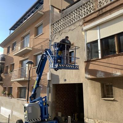 Reparaciones de fachadas urgentes