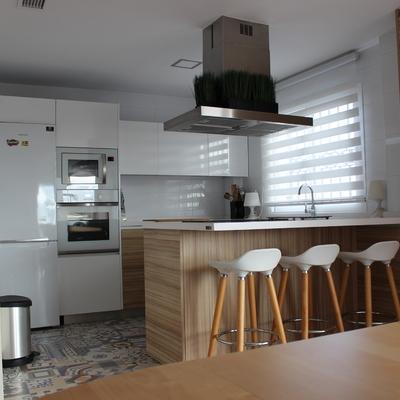 Reforma ampliación cocina-salita terraza