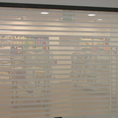 Nueva tienda persiana en blanca micriperforada