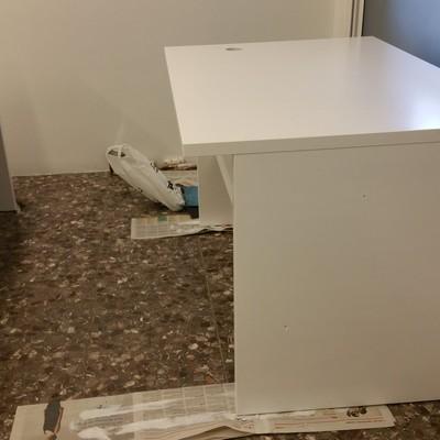 pintado de escritorio