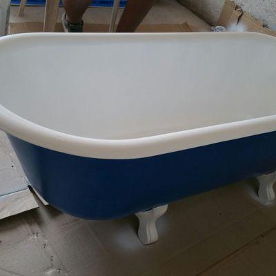 Esmaltado de bañera de fundición