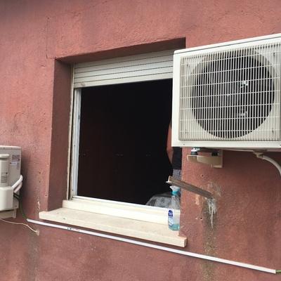 Instalacion de aire acondicionado Mitsubishi Electric
