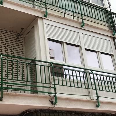 Cerramiento de terraza en PVC