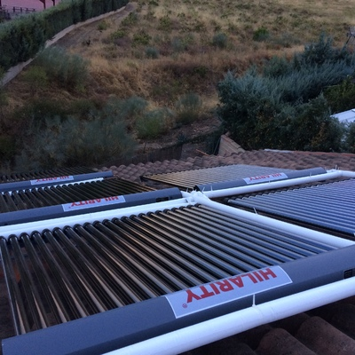 Instalación Solar Térmica para ACS+ Calefacción.