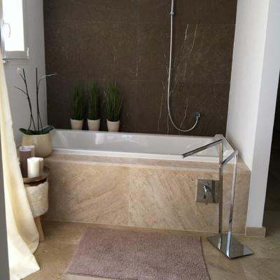 Reforma baño con cambio de bañera y Griferia