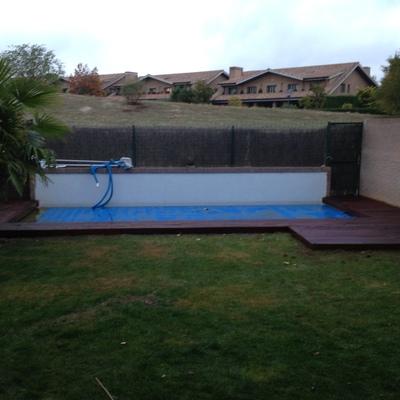 Entarimado de piscina