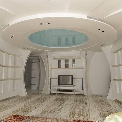 Formas de pladur paredes y techo