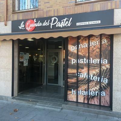 carteleria fachada La Guinda del Pastel