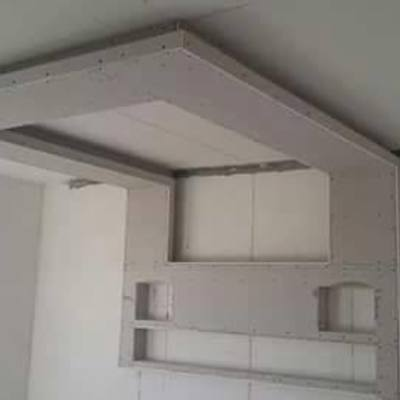 Formas de pladur techo- paredes