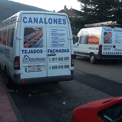 furgonetas de la empresa