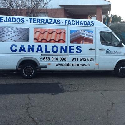 furgoneta de elite-reformas
