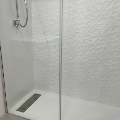 ducha a ras de suelo
