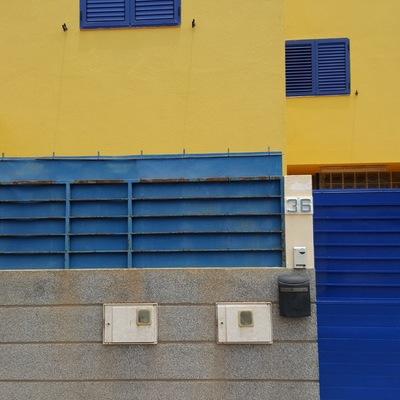 Pintura de puertas exterior duplex