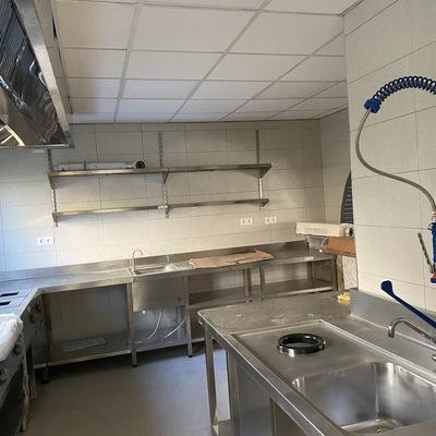 Reforma en Cocina Industrial en Lugo